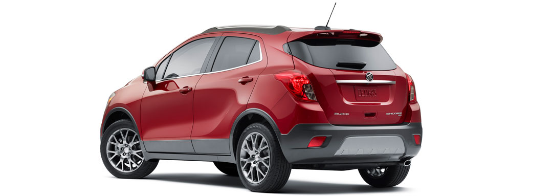 2016 Buick Encore rear