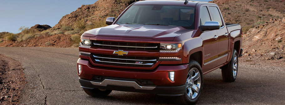 2016 Chevrolet Silverado 1500 LTZ Z71. Available fall of 2015.