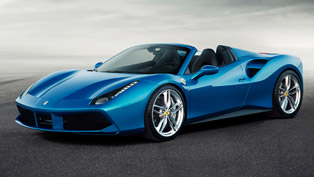 2016 ferrari 488 spider has it all: 661hp and entirely retractable hard top [video]