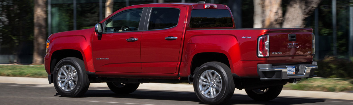 2016 GMC Canyon SLE Side View