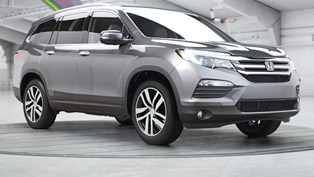 2016 Honda Pilot Debuts With Almost Meaningful Spots