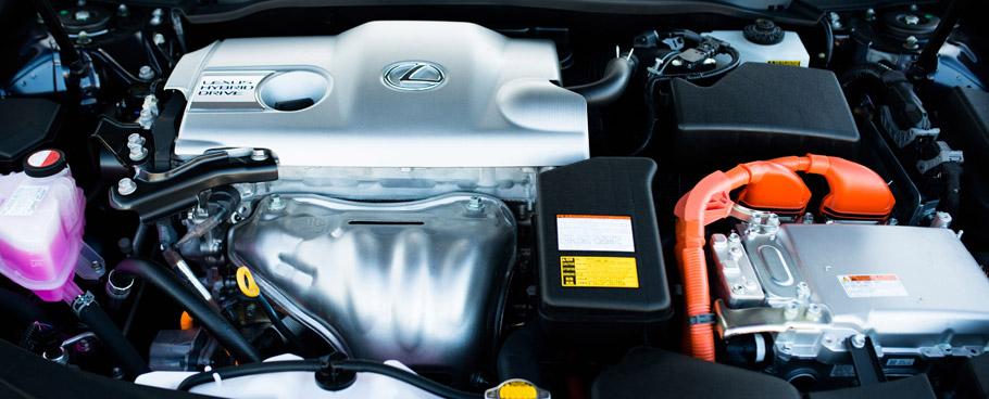 2016 Lexus ES 300h Hybrid System