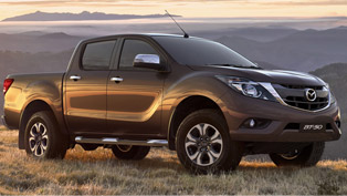 Mazda BT-50 Comes Refreshed And Restyled. Check it Out!