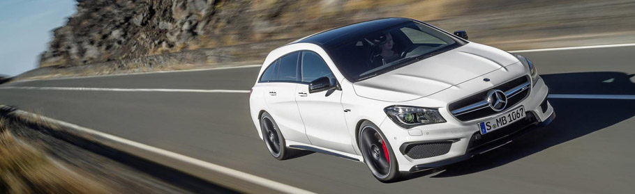 2016 Mercedes-Benz CLA 45 AMG Shooting Brake