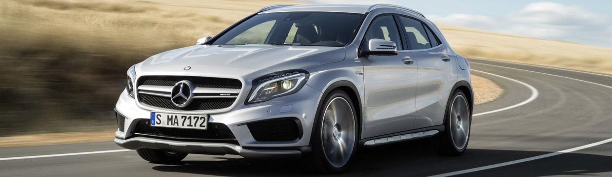 2016 Mercedes-Benz GLA 45 AMG Front View