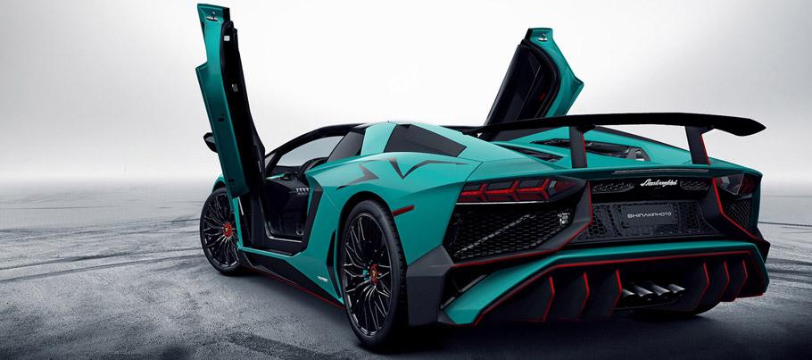 2017 Lamborghini Aventador SuperveVeloce Roadster