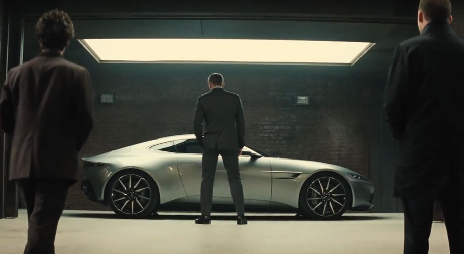 Aston Martin DB10 Side