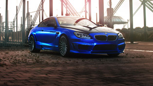 hamann and fostla.de unite for a special mirr6r bmw m6 project