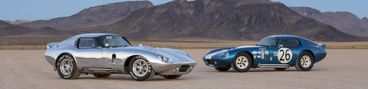 Shelby Cobra Daytona Race Coupes