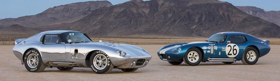 Shelby Cobra Daytona Side View