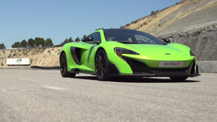 McLaren 675LT Makes Dynamic Debut. See it! [VIDEO]