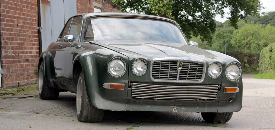 1976 Jaguar XJ-C 12 Front View