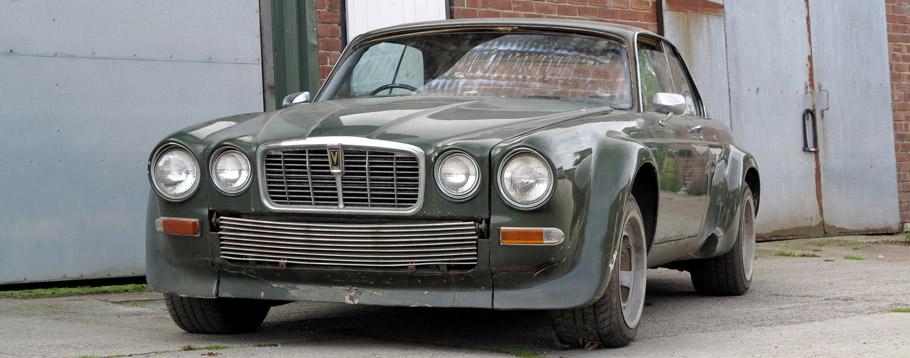 1976 Jaguar XJ-C 12 Front View