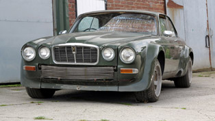 john steed's famous muscled-up jaguar found and goes on sale