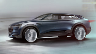 Audi e-tron quattro Concept Revealed with First Sketches. Debuts in Frankfurt