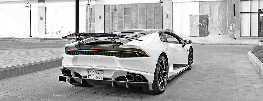 DMC Lamborghini Huracan LP-610 Stage3 Rear View