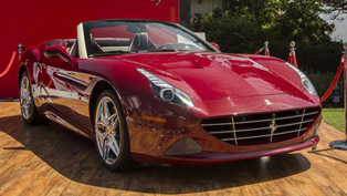 Ferrari Demonstrates A Special California T Model