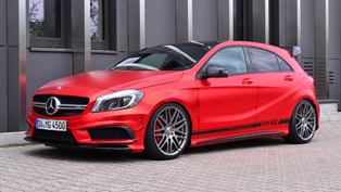 Take a Look at this Mercedes-Benz A45 AMG by Folien Experte! It is 435HP Strong