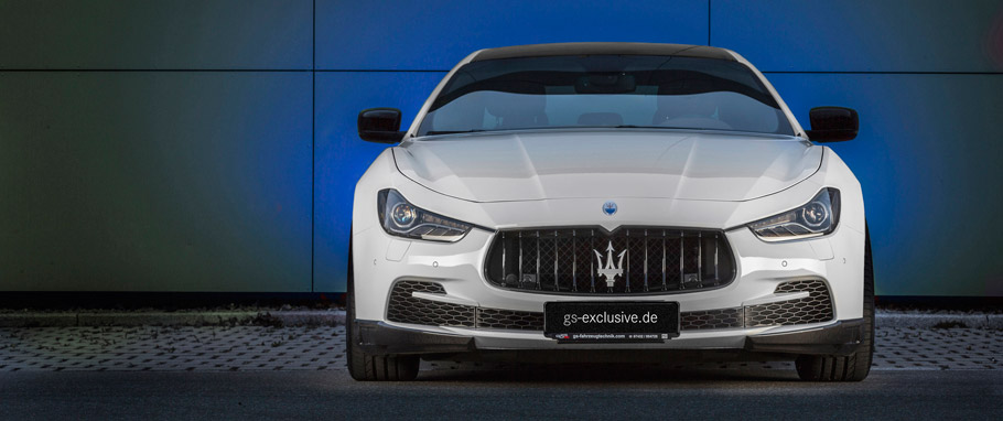 Maserati Ghibli EVO by G&S Exclusive Front View