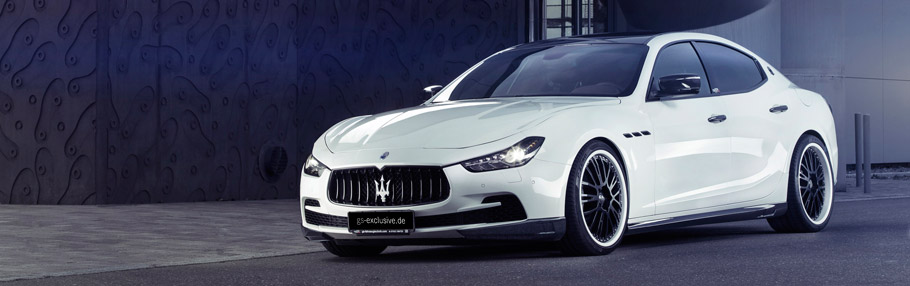 Maserati Ghibli EVO by G&S Exclusive Front and Side View