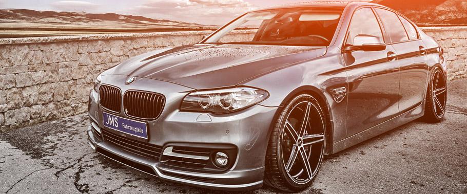 JMS Fahrzeugteile BMW 5-Series Front View