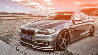 simple but charming: meet jms bmw 5-series facelift