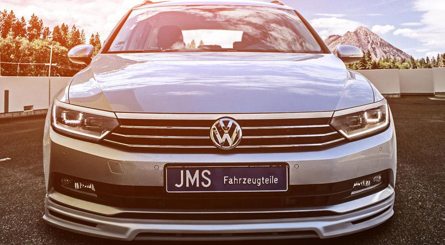 JMS Volkswagen Passat 3C B8 Front View