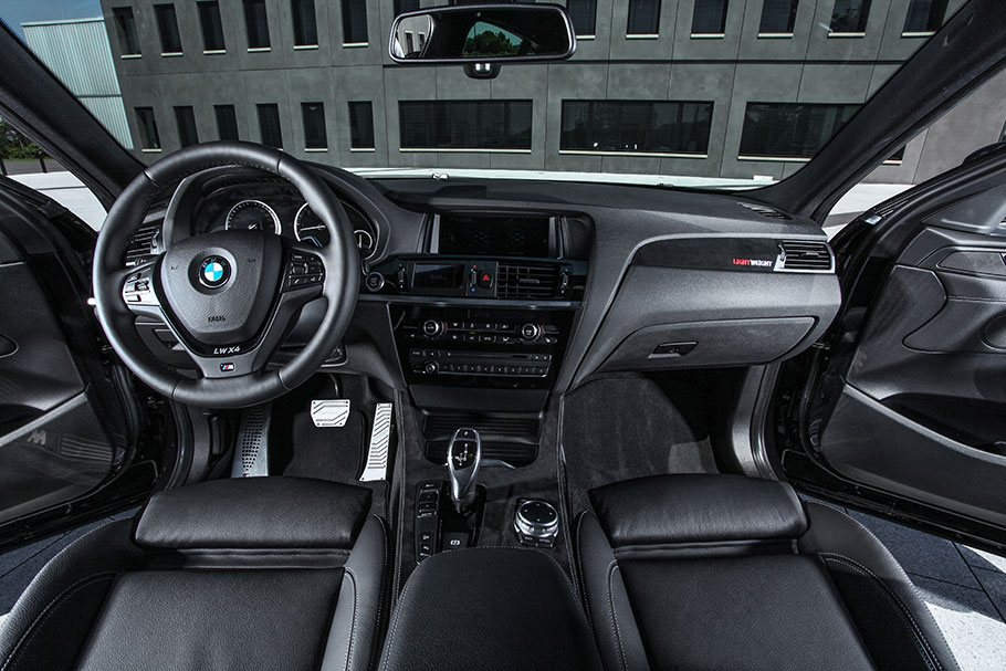 2015 LIGHTWEIGHT BMW X4 Interior