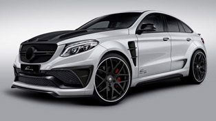 LUMMA Design to Present Mercedes-Benz GLE Coupe CLR G 800 in Frankfurt