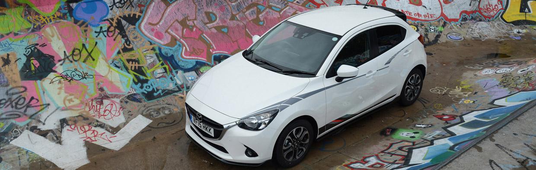 Mazda2 Sport Black Special Edition Upper View