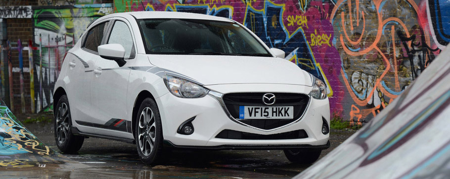 Mazda2 Sport Black Special Edition Front View