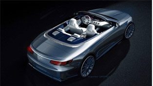 Beautiful Drawing From Mercedes Team: S-Class Cabriolet Comes Our Way!