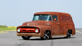 OXIGIN Ford F100 Show Car is Hell of a Truck! And Here is Why