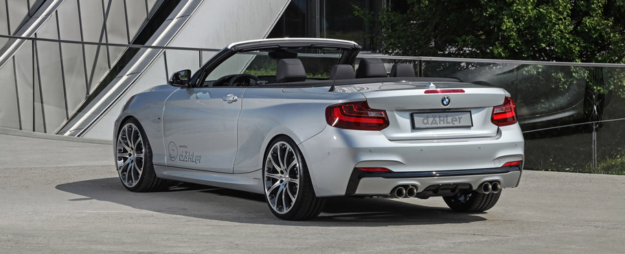 dÄHLer BMW M235i Cabriolet  Rear View