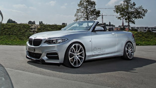 dÄHLer Releases BMW M235i Cabriolet with 390HP