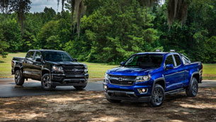 Meet the new Chevy Colorado's Midnight and Trail Boss editions