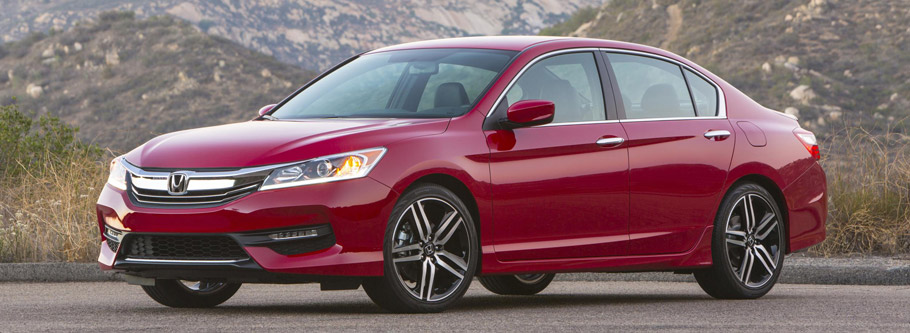 2016 Honda Accord Facelift Side View