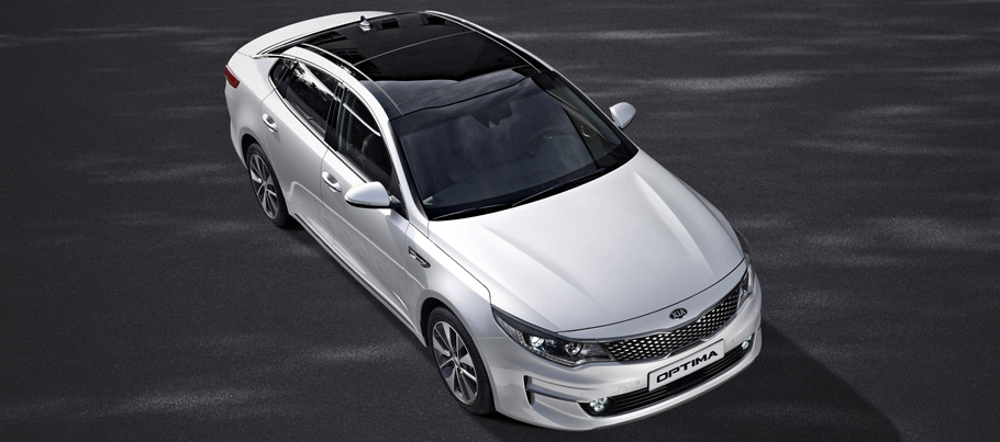 2016 Kia Optima Front View