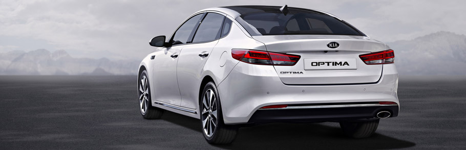 2016 Kia Optima Rear View