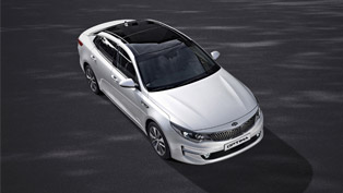thoroughly revised 2016 kia optima debuts in frankfurt