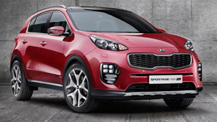 kia releases first official pictures of 2016 sportage