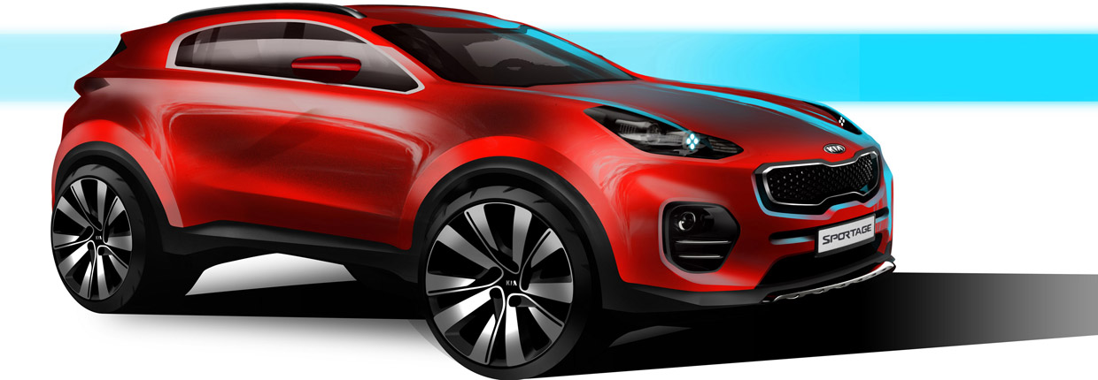 2016 Kia Sportage Teaser Side View