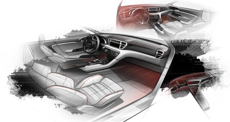 2016 Kia Sportage Teaser Interior
