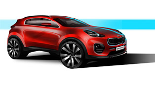 The Future Face of Kia Represented by 2016 Sportage