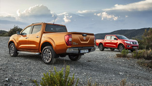 Improved and More Powerful 2016 Nissan NP300 Navara Debuts in Frankfurt