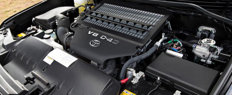 2016 Toyota Land Cruiser Facelift V8 Engine