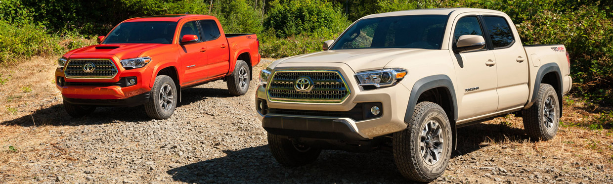 2016 Toyota Tacoma Front View