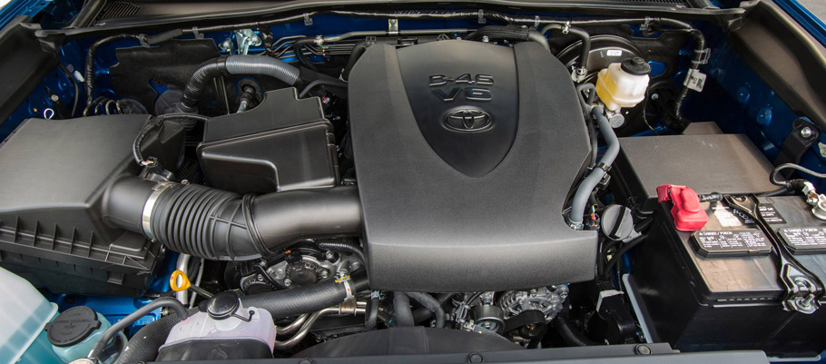 2016 Toyota Tacoma V6 Engine