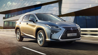 fourth generation lexus rx debuts in europe