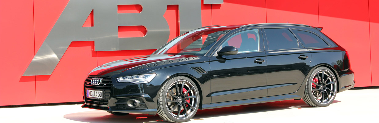 ABT Audi AS6 Front and Side View